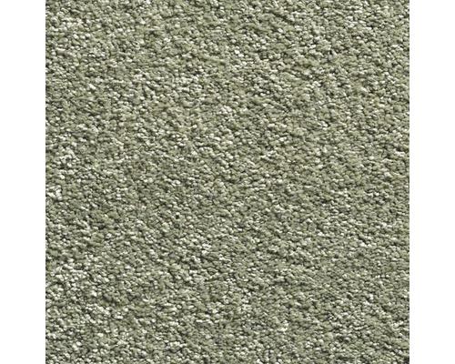 Teppichboden Velours Sofia Farbe 140 grün 500 cm breit (Meterware)