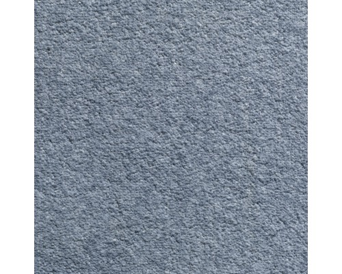 Teppichboden Velours Dahlia Farbe 180 hellblau 500 cm breit (Meterware)
