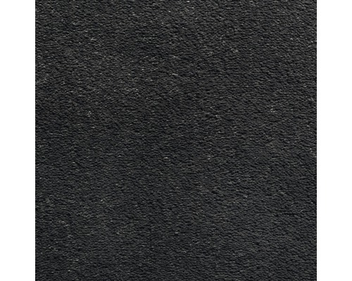 Teppichboden Velours Dahlia Farbe 178 schwarz 400 cm breit (Meterware)
