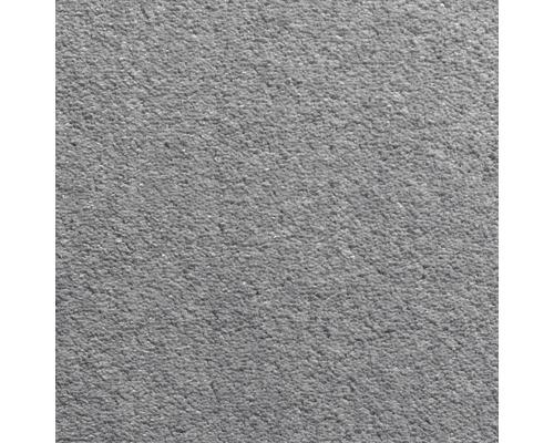 Teppichboden Velours Dahlia Farbe 175 grau 400 cm breit (Meterware)