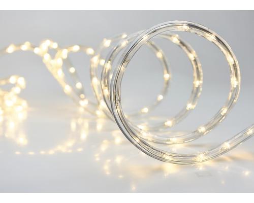 Cordon lumineux LED extérieur et intérieur 9 m blanc chaud