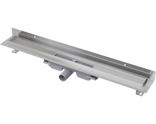 Duschrinne APZ116 Wall Low 650 mm edelstahl