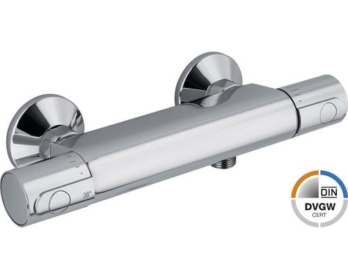 Robinetterie de douche à thermostat AVITAL Pescara chromée