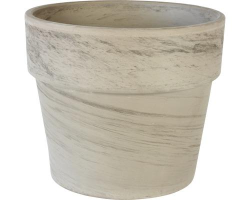 Pot de fleurs Spang Calima Argile Ø31H27cm basalte