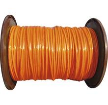 Câble de données bobine professionnelle CAT 7 Duplex 2x(4x2xAWG23/1) 250m orange-thumb-0