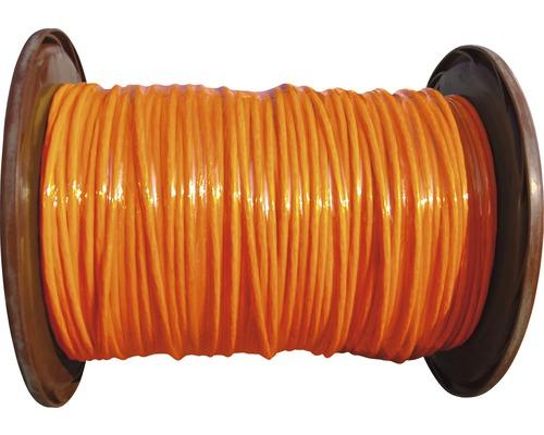 Câble de données bobine professionnelle CAT 7 Duplex 2x(4x2xAWG23/1) 250m orange