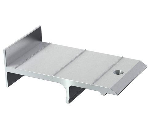 Embout de fixation plot pour terrasse S-Fix H kit = 50pièces, vis autotaraudeuses pour soubassement Isostep-H comprises