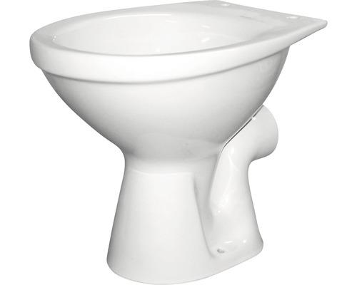 Tiefspül-WC DNP weiß Abgang waagerecht