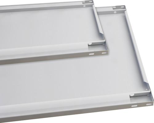 Tablette supplémentaire 300mm avec 4 supports d''étagère pour système empilable MULTIplus85, galvanisée