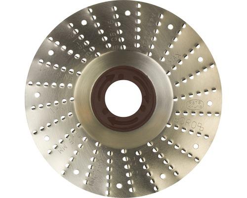 Râpe roto Ø 125x22,2mm 2,5mm lame grossière