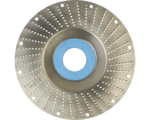 Râpe roto Ø 115x22,2mm 1,5mm lame fine