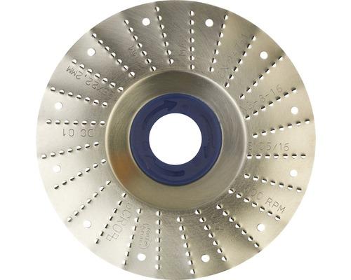 Râpe roto Ø 125x22,2mm 2,0mm lame moyenne