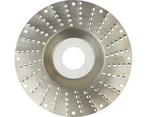 Râpe roto Ø 115x22,2mm 2,5mm lame grossière
