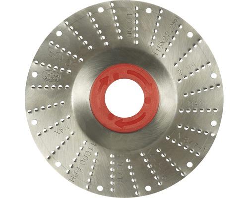 Râpe roto Ø 115x22,2mm 2,0mm lame moyenne