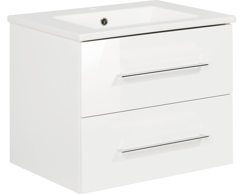 Kit de meubles de salles de bain Fackelmann B.perfekt blanc 51x62.5 cm