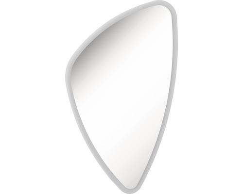 LED Badspiegel FACKELMANN Mirrors Organic 89x55 cm mit umlaufenden LED´s IP 20