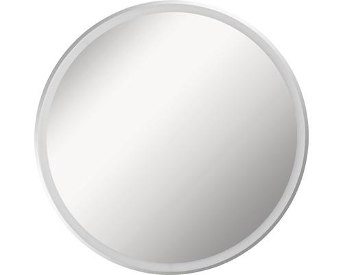 LED Badspiegel FACKELMANN Mirrors Rund 80 cm mit umlaufenden LED´s IP 20