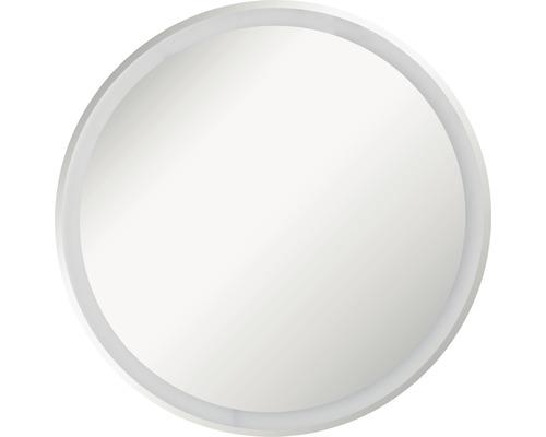 LED Badspiegel FACKELMANN Mirrors Rund 60 cm mit umlaufenden LED´s IP 20