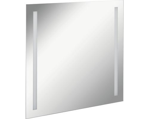 LED Badspiegel FACKELMANN Mirrors Linear 80x75 cm mit Ambientebeleuchtung IP 20