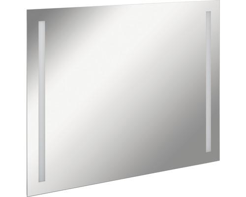 LED Badspiegel FACKELMANN Mirrors Linear 100x75 cm mit Ambientebeleuchtung IP 20