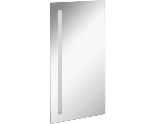 LED Badspiegel FACKELMANN Mirrors Linear 40x75 cm mit Ambientebeleuchtung IP 20