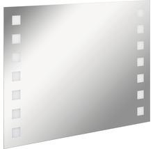 LED Badspiegel FACKELMANN Mirrors Karo 100x75 cm mit Ambientebeleuchtung IP 20-thumb-0