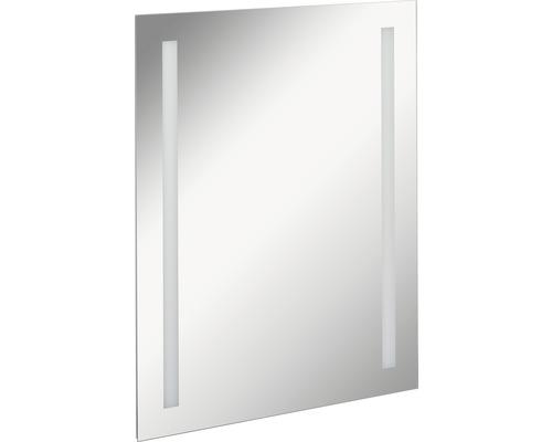 LED Badspiegel FACKELMANN Mirrors Linear 60x75 cm mit Ambientebeleuchtung IP 20