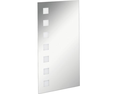 LED Badspiegel FACKELMANN Mirrors Karo 40x75 cm mit Ambientebeleuchtung IP 20