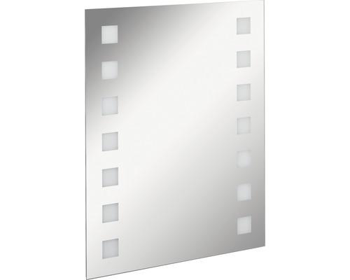 LED Badspiegel FACKELMANN Mirrors Karo 60x75 cm mit Ambientebeleuchtung IP 20
