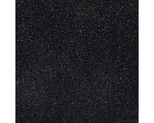 Teppichboden Velours Grace Farbe 78 schwarz 500 cm breit (Meterware)