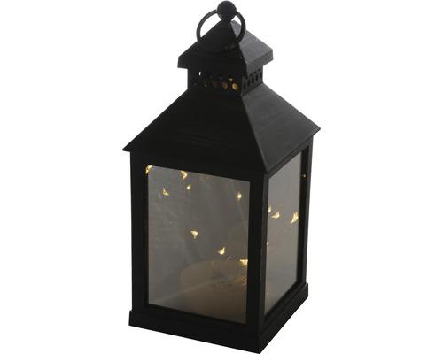 Lanterne LED Nivel à piles, extérieur et intérieur, 10x10x23 cm, avec fonction de minuterie