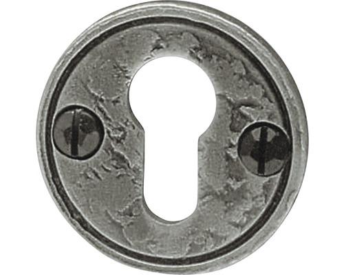 Rosace cylindre profilé forgée à la main pour cylindre profilé de Ø 58mm
