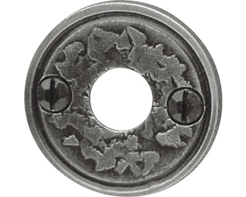 Rosace de poignée en fer forgé Ø 57mm pour poignée de porte