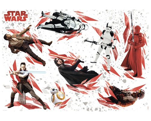 Sticker décoratif Star Wars The Last Jedi 100 x 70 cm