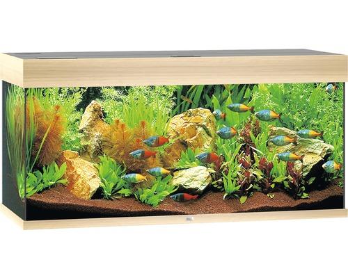 Aquarium Juwel Rio 180 LED sans meuble bas bois clair