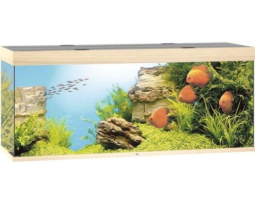 Aquarium Juwel Rio 450 LED sans meuble bas bois clair