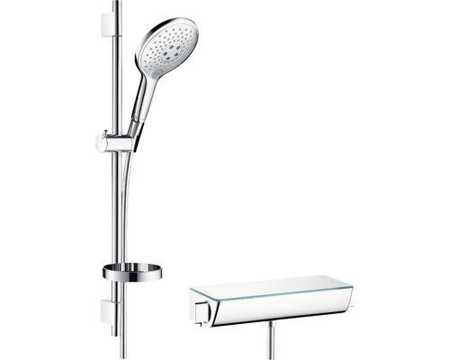 Brausegarnitur hansgrohe Raindance Select S 27036000 Brausestangenlänge 71,8 cm inkl. Thermostatarmatur
