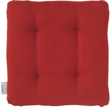 Galet de chaise Loneta rouge 42x42x6 cm-thumb-0