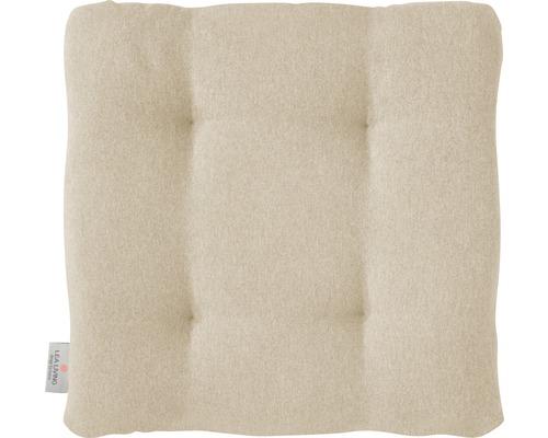 Sitzkissen Loneta beige 42x42x6 cm