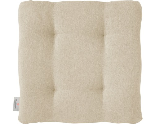 Galet de chaise Loneta beige 42x42x6 cm