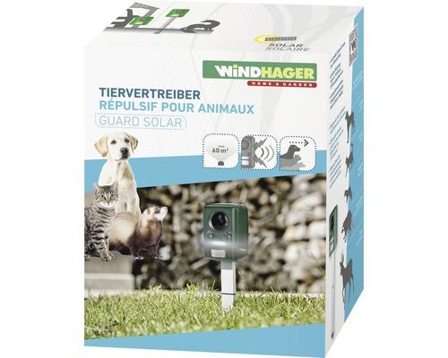 Appareil répulsif pour animaux Windhager Solar Outdoor