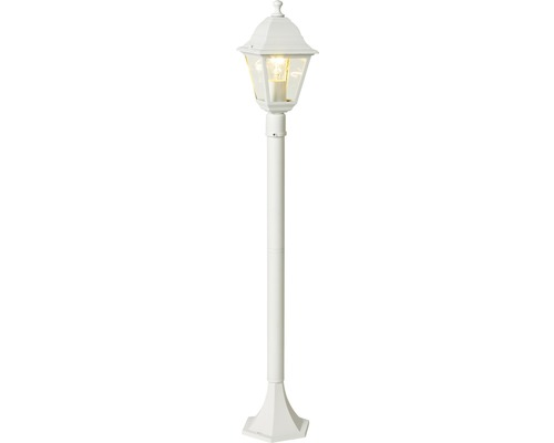 Lampadaire extérieur FLAIR Anser blanc 1 ampoule H 1 m