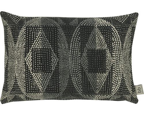 Housse de coussin Barbara Becker African Soul 2 gris noir 35x50 cm
