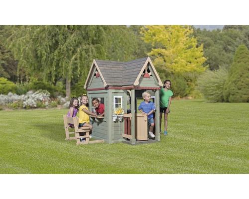 Cabane de jeux Backyard DISCOVERY Victorian Inn bois gris