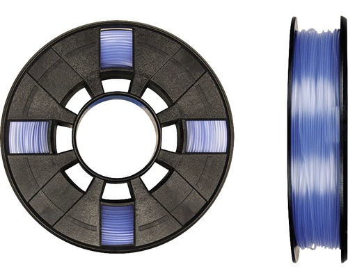 Filament MakerBot PLA 1,75mm transparent bleu
