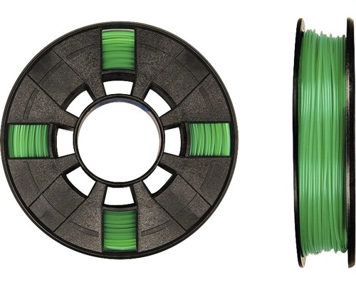 Filament MakerBot PLA 1,75mm transparent vert