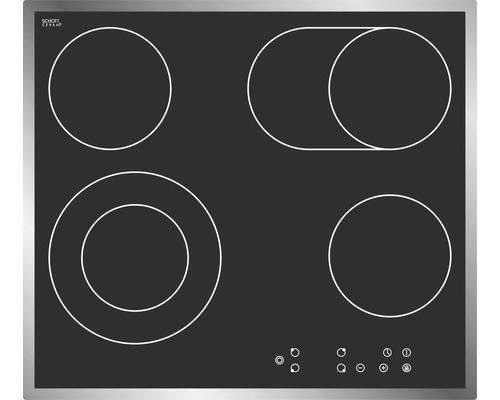 Plaque de cuisson vitrocéramique PKM EB-C4-2KBTC, largeur 59cm