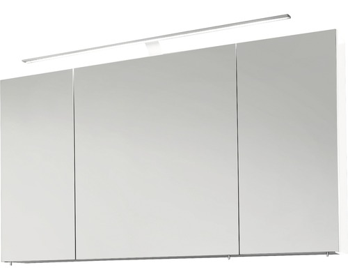 Armoire de toilette marlin bad 3040 blanc haute brillance largeur 120 cm 3 portes brillantes - Armoire 120 cm de largeur ...