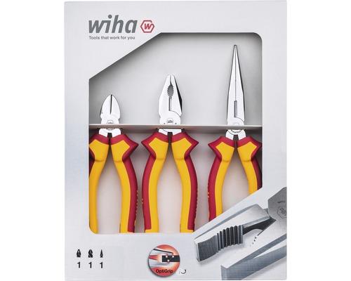 Set de pinces Wiha Electric 3 pcs