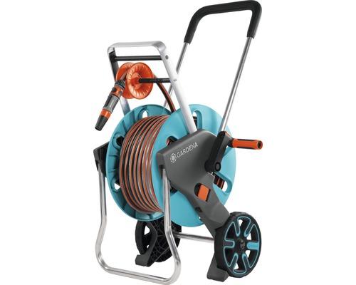 Dévidoir sur roues GARDENA, CleverRoll M Easy kit avec 20m de tuyau et accessoires
